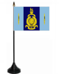 40 Commando Royal Marines Desk / Table Flag with plastic stand and base.